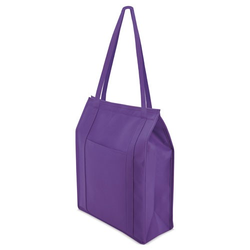 lila color cooler bag