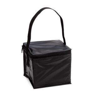 black color cooler bag