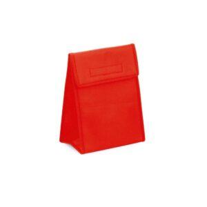 red color cooler bag