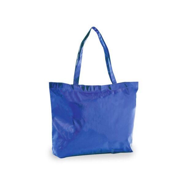 blue color laminated non woven bag