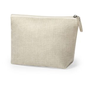 natural color beauty bag from polyester material