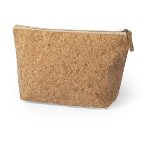 natural color beauty bag from cork material