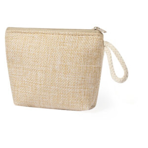 natural color beauty bag from cotton materal