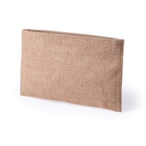 natural color beauty bag from jute material