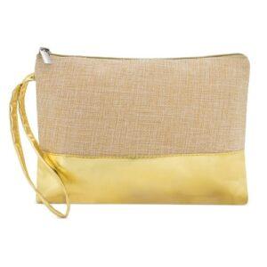 natural color beauty bag