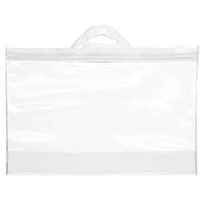 transparent beauty bag