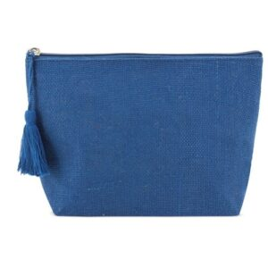 dark blue color beauty bag