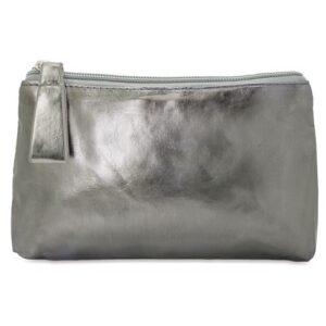dark grey color beauty bag