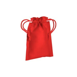 red color non woven pouch with two strings