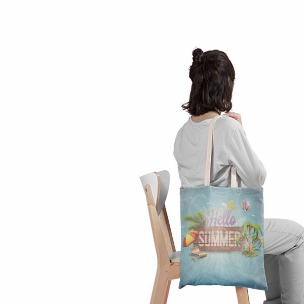 create your own tote bag, πανινη τσαντα, panini tsanta