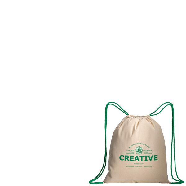 Πανινο Σακίδιο Cotton Drawstring Bag